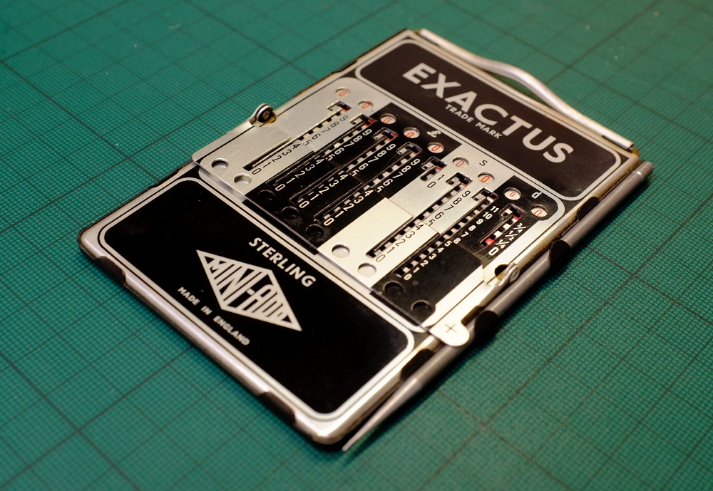 Image of Exactus MINI-ADD Mechanical Calculator